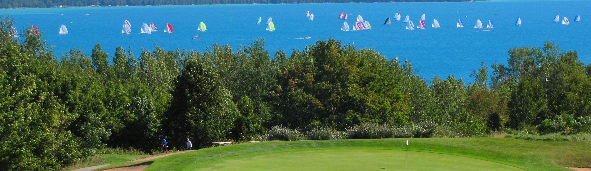 golf resort in Northern Michigan